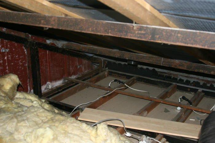 view of bisf house floor space