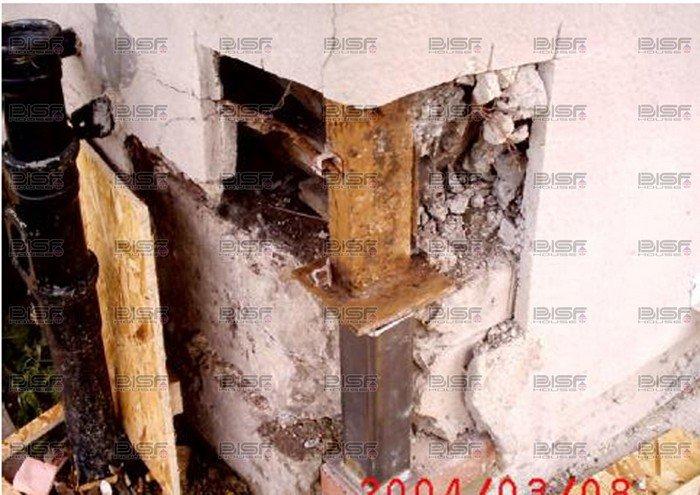 steel framed house repairs