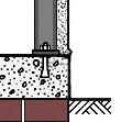BISF rag bolt foundation