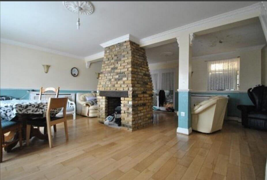 bisf stone fireplace