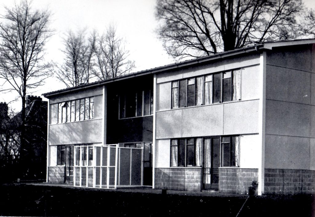 Howard house prototype A front view