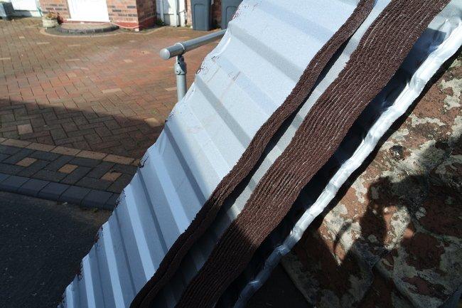 Lightweight steel roofing panels