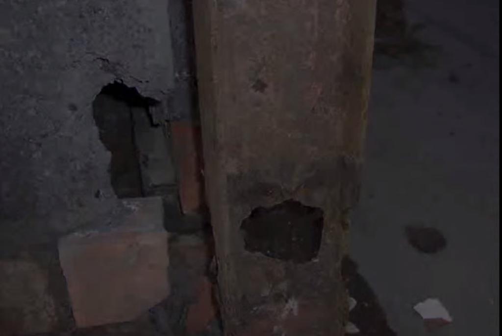 Dennis Wilde frame corrosion