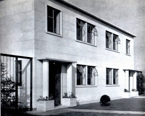 frontal view of orlit prc house