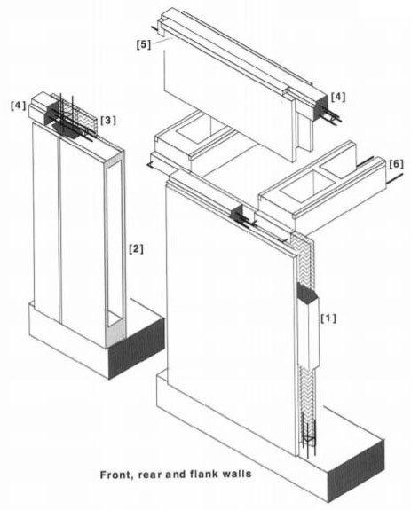 Reema Hollow Panel Technical Drawing