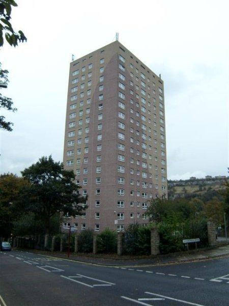 Shaw lodge high rise flats Halifax