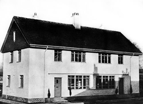 Image of Ayrshire county council prc house